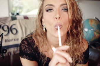 Gina Carla ASMR Chewing Pencil Patreon Video Leaked