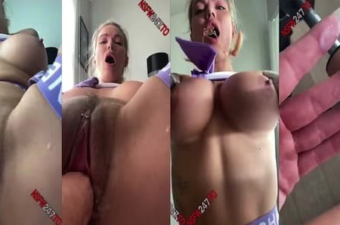 Viking Barbie Fucked By Sex Machine Snapchat Video Leaked
