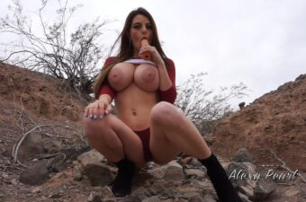 Alexa Pearl Caught Fucked & Creampied In Public Snapchat Video Leaked