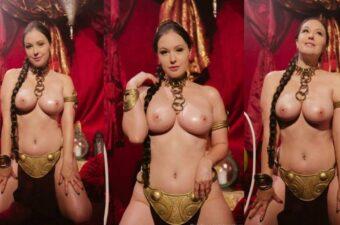 Meg Turney Nude Princess Leia Cosplay Video Leaked