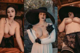 Meg Turney Lady Dimitrescu Cosplay Onlyfans Set Leaked