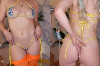 Kat Wonders Micro Bikinis Day 18 Patreon Video Leaked