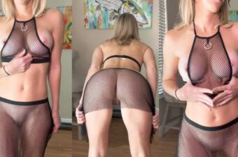 Vicky Stark See Through Mesh Top And Skirt Onlyfans Video Leaked