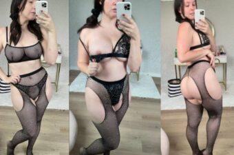 Meg Turney See Through Lingerie Try On Onlyfans Video Leaked