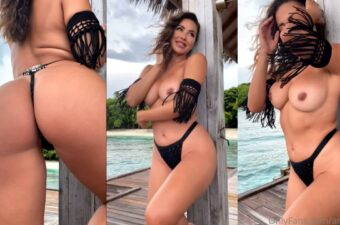 Ana Cheri Topless Tease Video Leaked