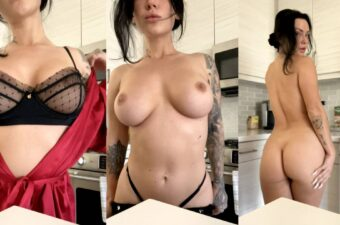Kayla Lauren Naked In The Kitchen Video Leaked