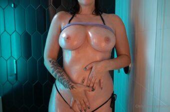 Meg Turney Nude Oil Shower Video Leaked