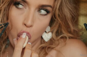 Gina Carla ASMR Banana Sucking Video Leaked