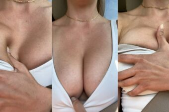 Christina Khalil Tits Tease Video Leaked