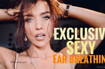 Gina Carla Sexy Close Ear Breathing Video Leaked