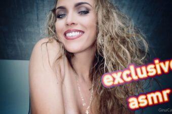 Gina Carla Kissing ASMR Video Leaked