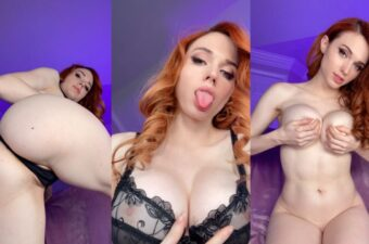 Amouranth Nude See Through Top Video Leaked