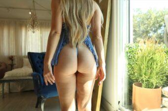 Caroline Zalog Blue Try On Haul Video Leaked