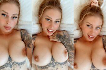 Vicky Aisha Topless Tease Video Leaked