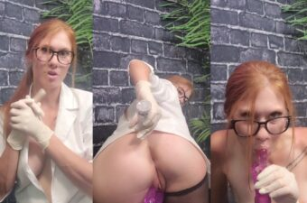 Ginger ASMR Testing New Double Penatrating Toy Video Leaked